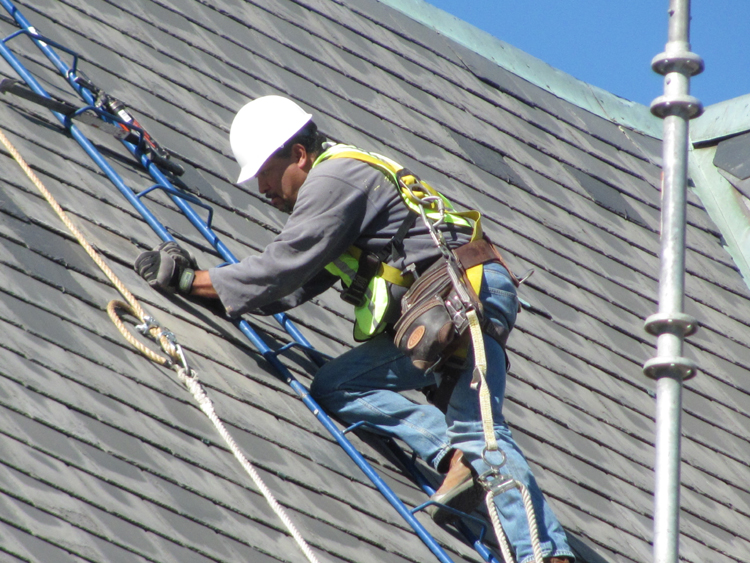 Slate Tile Roof Repair