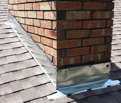 Chimney Flashing Repaired