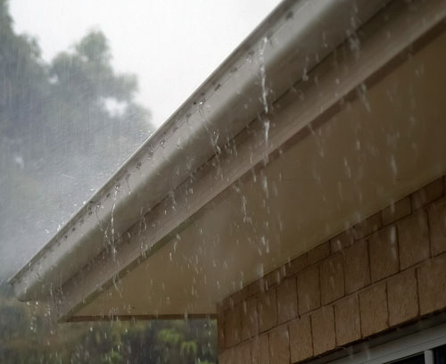 Roof Leaks in Heavy Rain