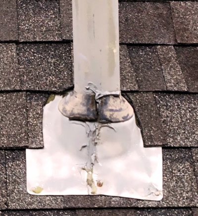 Vent Pipe Flashing Leaks