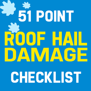 Roof Hail Damage Inspection