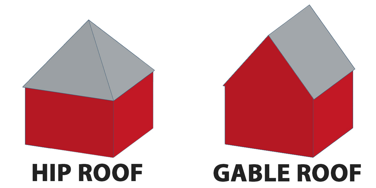 Hip Vs Gable Roof A Complete Comparison With Pictures