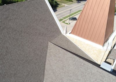 Roof View - St. Paul United Methodist Church Muskogee, OK